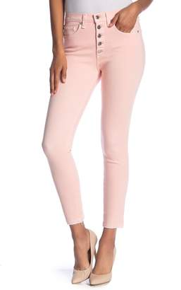 Veronica Beard Debbie Exposed Button Fly Skinny Jeans