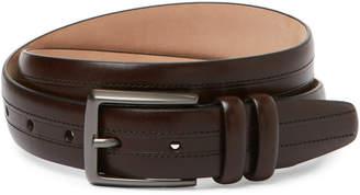 Trafalgar Alan Dark Brown Leather Belt