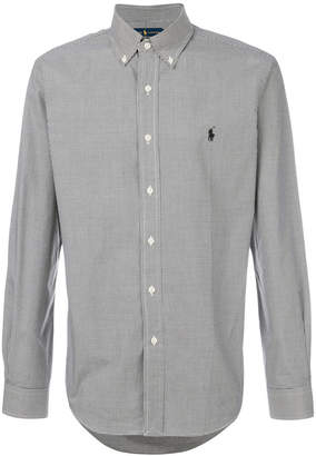 Polo Ralph Lauren micro-gingham shirt