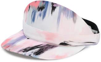 Eugenia Kim Nikki satin print visor