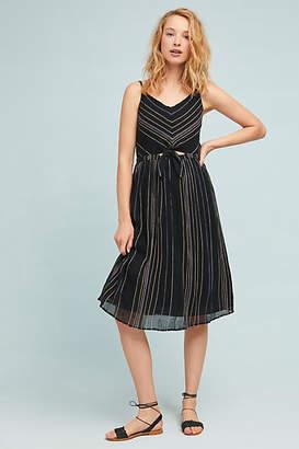 Michael Stars Striped Midi Dress