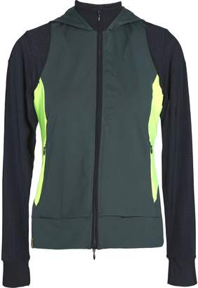 Monreal London パネルデザイン ストレッチ フード付きジャケット