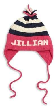MJK Knits Baby's, Toddler's& Kids Personalized Flap Hat