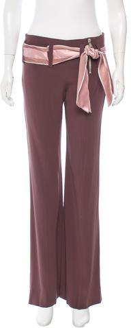Chloé Chloé Belted Flared Pants