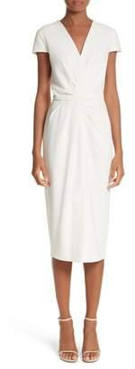 Max Mara Full Drape Midi Dress