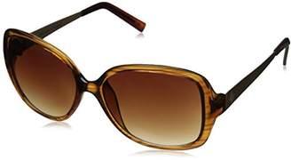 Adrienne Vittadini Women's AV1019 Square Sunglasses