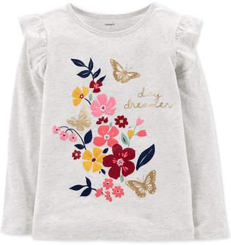 Carter's Little & Big Girls Graphic-Print Cotton T-Shirt