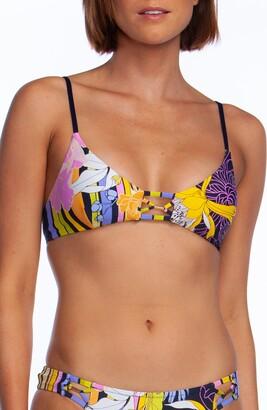 Trina Turk Bal Harbour Floral Bralette Bikini Top
