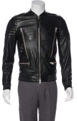 AllSaints Leather Biker Jacket