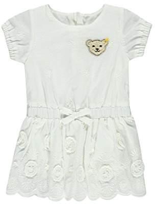 Steiff Baby Girls' Kleid 1/4 Arm Dress,9-12 Months