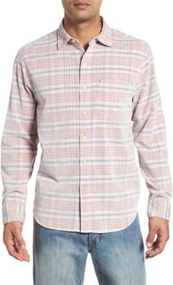 Tommy Bahama Cruzy Plaid Corduroy Sport Shirt