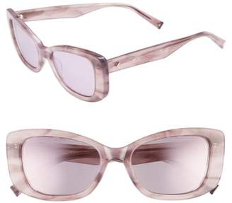 KENDALL + KYLIE 53mm Cat Eye Sunglasses