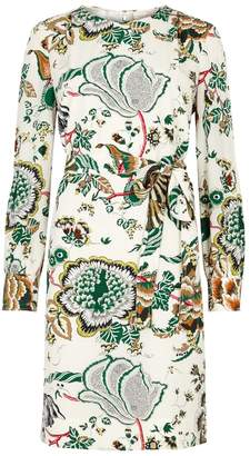 Tory Burch Marilyn Printed Silk Dress