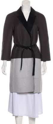 Narciso Rodriguez Colorblock Wool Coat