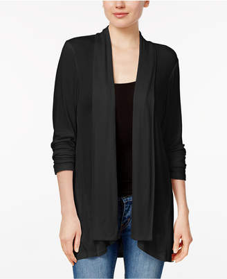 Style&Co. Style & Co Draped High-Low Cardigan, Created for Macy's