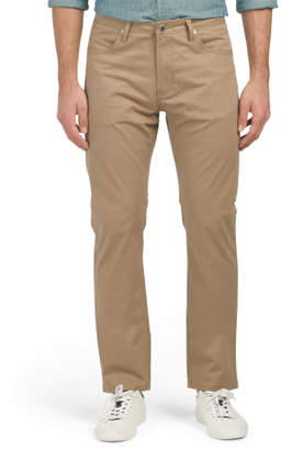 5 Pocket Stretch Twill Pants