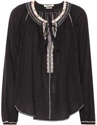 Etoile Isabel Marant Isabel Marant, étoile Rina embroidered cotton top