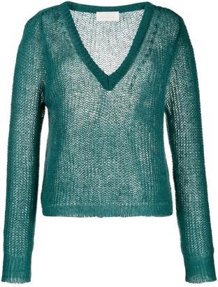 Chiara Bertani chunky knit sweater