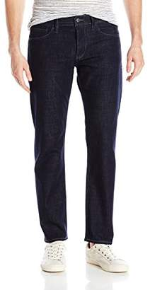 "Armani Exchange A|X Men's Slim Fit 5 Pocket Blue Rinse Denim 30"" Inseam"