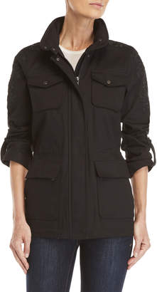 Vince Camuto Embroidered Anorak