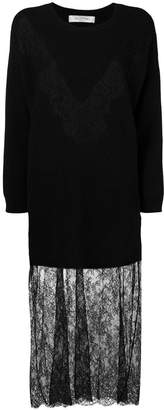 Valentino lace knit dress