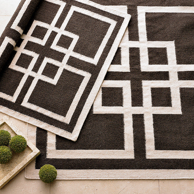 Overlapping Squares Rug