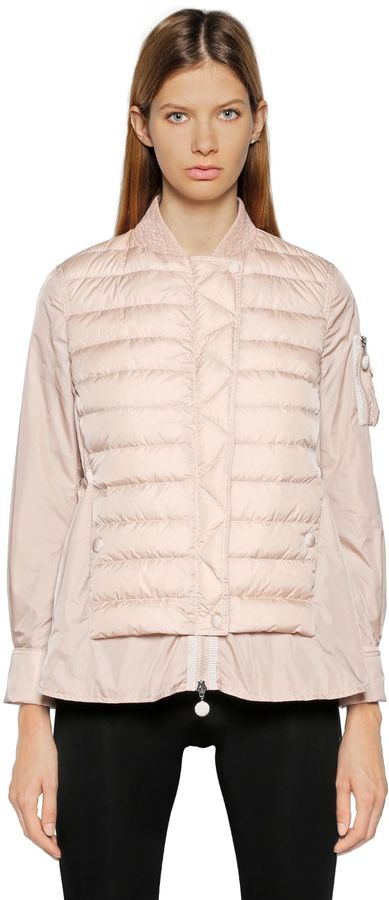 Moncler Barreme Quilted Nylon Down Jacket