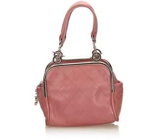 Chanel Vintage Wild Stitch Lambskin Handbag