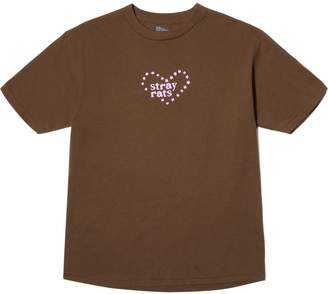 Stray Rats HEART STAR TEE