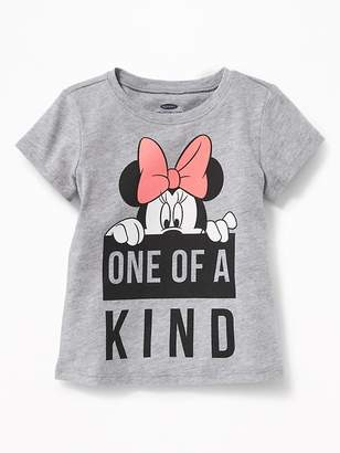 """Old Navy Disney© Minnie Mouse """"One of A Kind"""" Tee for Toddler Girls"""