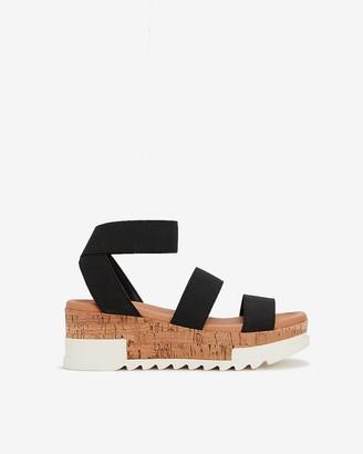 Express Steve Madden Bandi Platform Sandals