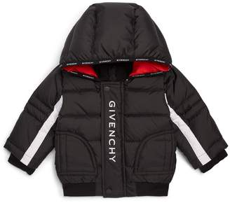 Givenchy Logo Puffer Coat