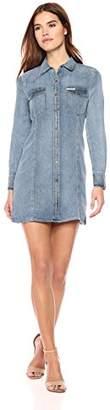 Calvin Klein Jeans Women's Women's Long Sleeve Denim Dress