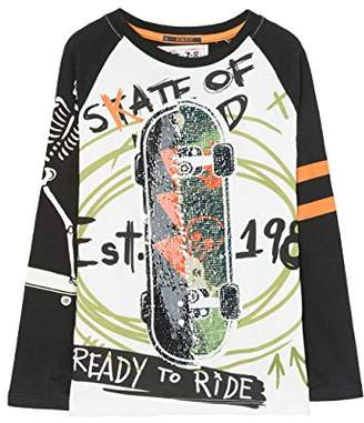 Desigual Boy's TS_Sebastian Long Sleeve Top,(Manufacturer Size: 3/4)