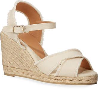Castaner Bromelia Wedge Canvas Sandals