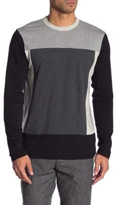 Slate & Stone Colorblock Crew Neck Sweater