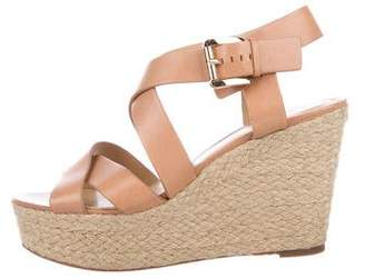 Michael Kors Platform Wedge Sandals