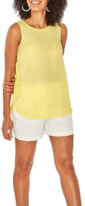Dorothy Perkins Lemon Sleeveless Top