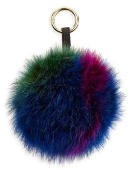 The Fur Salon Fox Fur Keychain