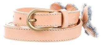Miu Miu Miu Miu Double Wrap Belt