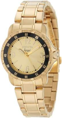 Invicta Women's 0550 Angel Collection 18k -Plated Stainless Steel Watch