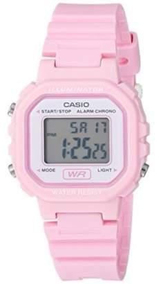 Casio Ladies Digital Casual Watch, Pink