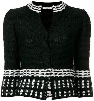 Charlott fitted knit jacket