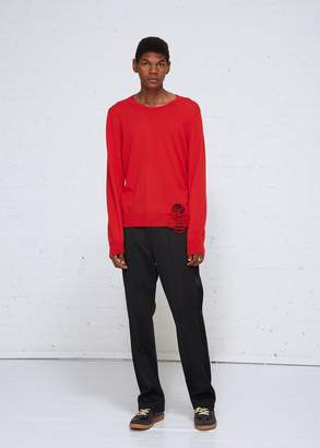 Maison Margiela Destroyed Crew Sweater