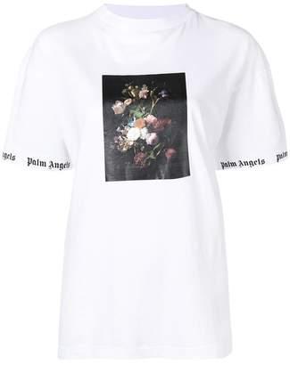 Palm Angels flower photo print T-shirt
