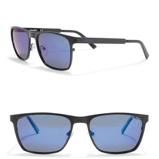 Timberland 57mm Square Polarized Sunglasses