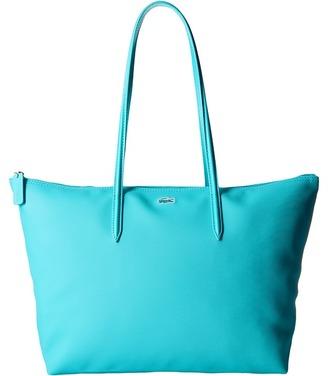 Lacoste L.12.12 Concept Large Shopping Bag $98 thestylecure.com