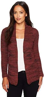 Nic+Zoe Women's Petite Thick and Thin Cardy