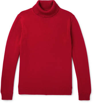 Altea Virgin Wool Rollneck Sweater