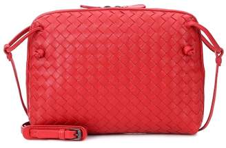 Bottega Veneta Nodini intrecciato leather crossbody bag